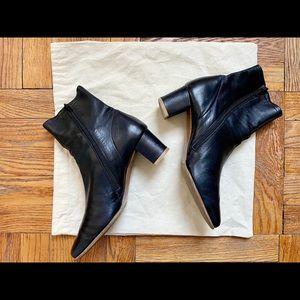 BY FAR Sofia Black Boot, Size 39